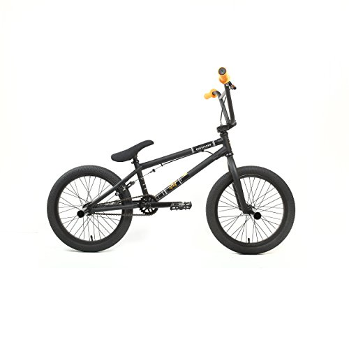 KHE Bikes Root 360 18 Freestyle BMX Bicycles, Black