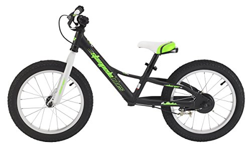 Stampede Bikes Charger Kids Balance Bike, 16 Inch, Black