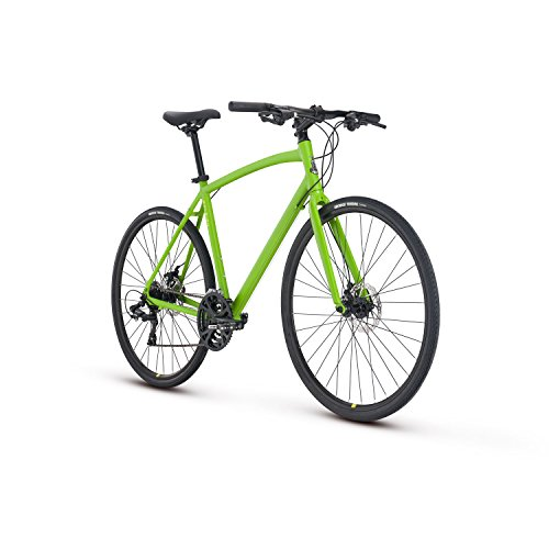 Raleigh Bikes Cadent 2 Fitness Hybrid Bike 19″ Frame, Green, 19″/Large