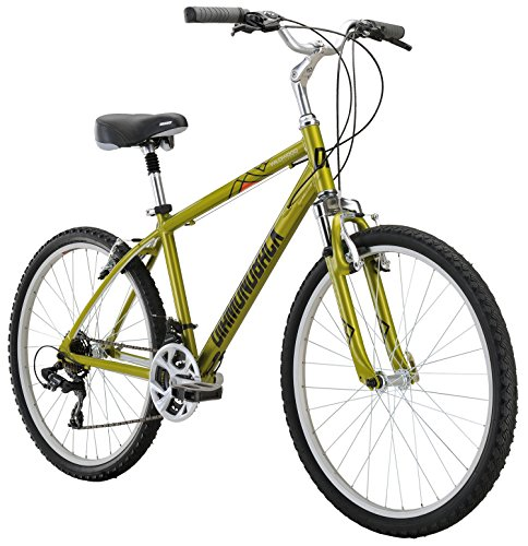 Diamondback Bicycles Wildwood Classic Comfort Bike, 19″/Large, Green