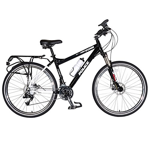 Force Pursuit Police Bicycle, 27.5 inch Wheels, 15 inch Frame, Black