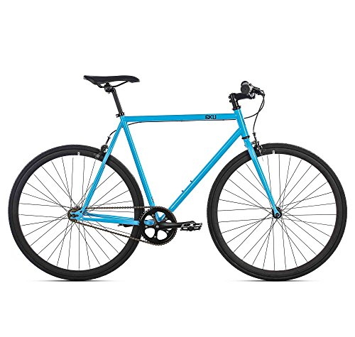 6KU Fixed Gear Single Speed Iris Urban Fixie Road Bike, 52cm