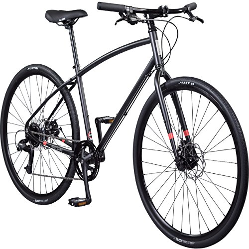 Pure Cycles 8-Speed Urban Commuter Bicycle, Wright Black, Large