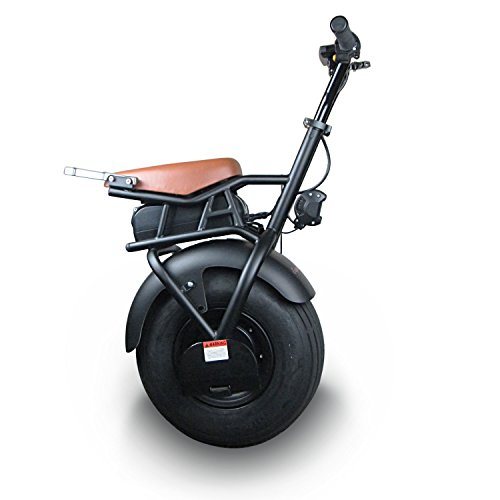 SUPERRIDE Electric Unicycle S1000, Self Balancing One Wheel Scooter with Single Fat Tire & 1000W Motor