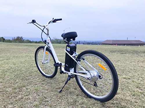 Yukon Trail Expedition 350W 7 Speed Electric Bike with Samsung Lithium Battery, 26″/One Size