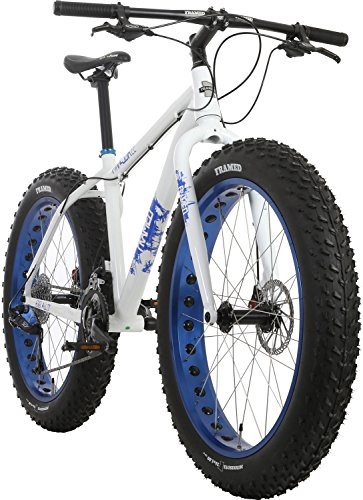 Framed Minnesota 2.2 White/Blue Fat Bike