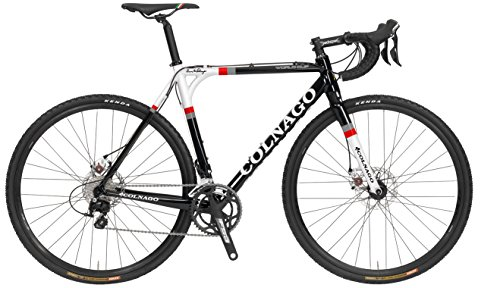 Colnago World Cup SL DISC 105 5800 Cyclocross Bicycle, Black/red, 58cm