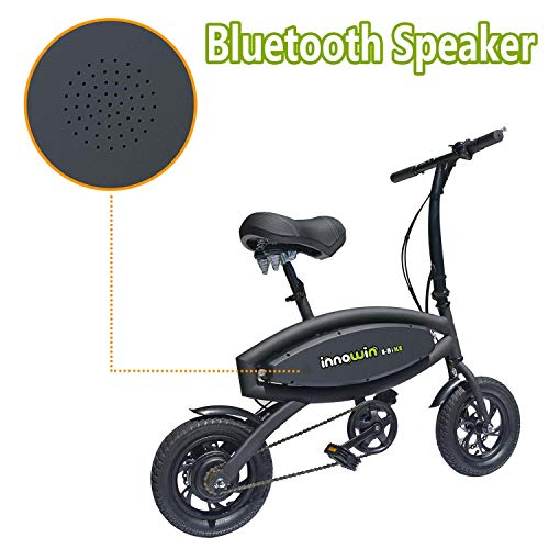 InnoWin Kingsports Mini Foldable Electric Bike/Bicycle with 250W Brushless Motor
