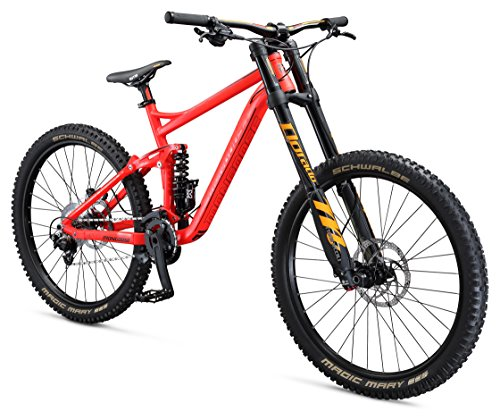 Mongoose Boot'r 27.5″ Down Hill Bicycle, Red, 17″/Medium