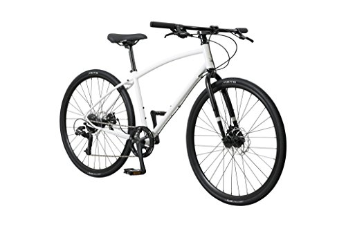 Pure Cycles 8-Speed Urban Commuter Bicycle, Frey White, Large
