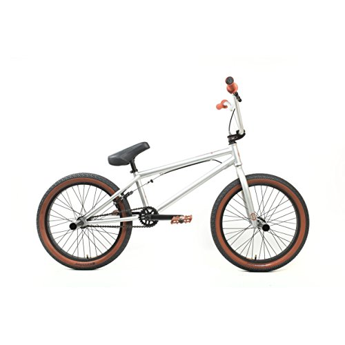 KHE Bikes Evo 0.3 Freestyle BMX Bicycles, Silver