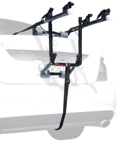 Allen Sports Deluxe 2-Bike Trunk Mount Rack, Model 102DB