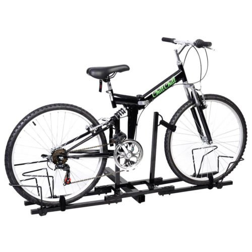 """2 Bike Bicycle Carrier Hitch Receiver 2"""" Heavy Duty Mount Rack Truck SUV"""