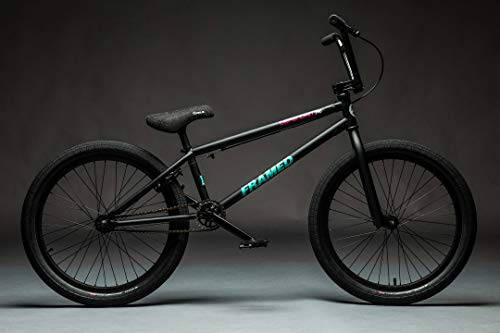 Framed Defendant Pro BMX Bike Matte Black Sz 22in