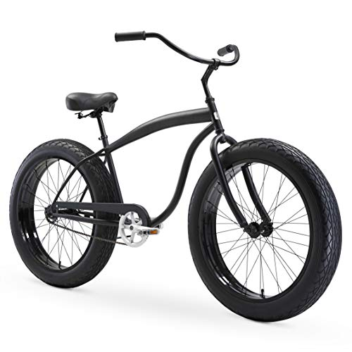 sixthreezero in The Barrel Men's 26″ Single Speed Fat Tire Beach Cruiser Bicycle