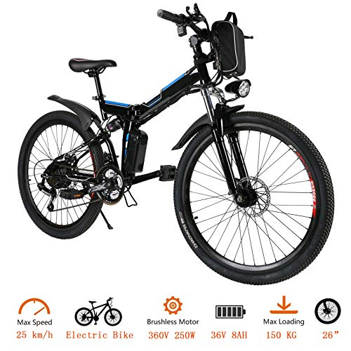 Tomasar-Power-Electric-Bike-with-Lithium-Ion-Battery-2620-inch-Wheel-Cyclocross-Bike-US-Stock